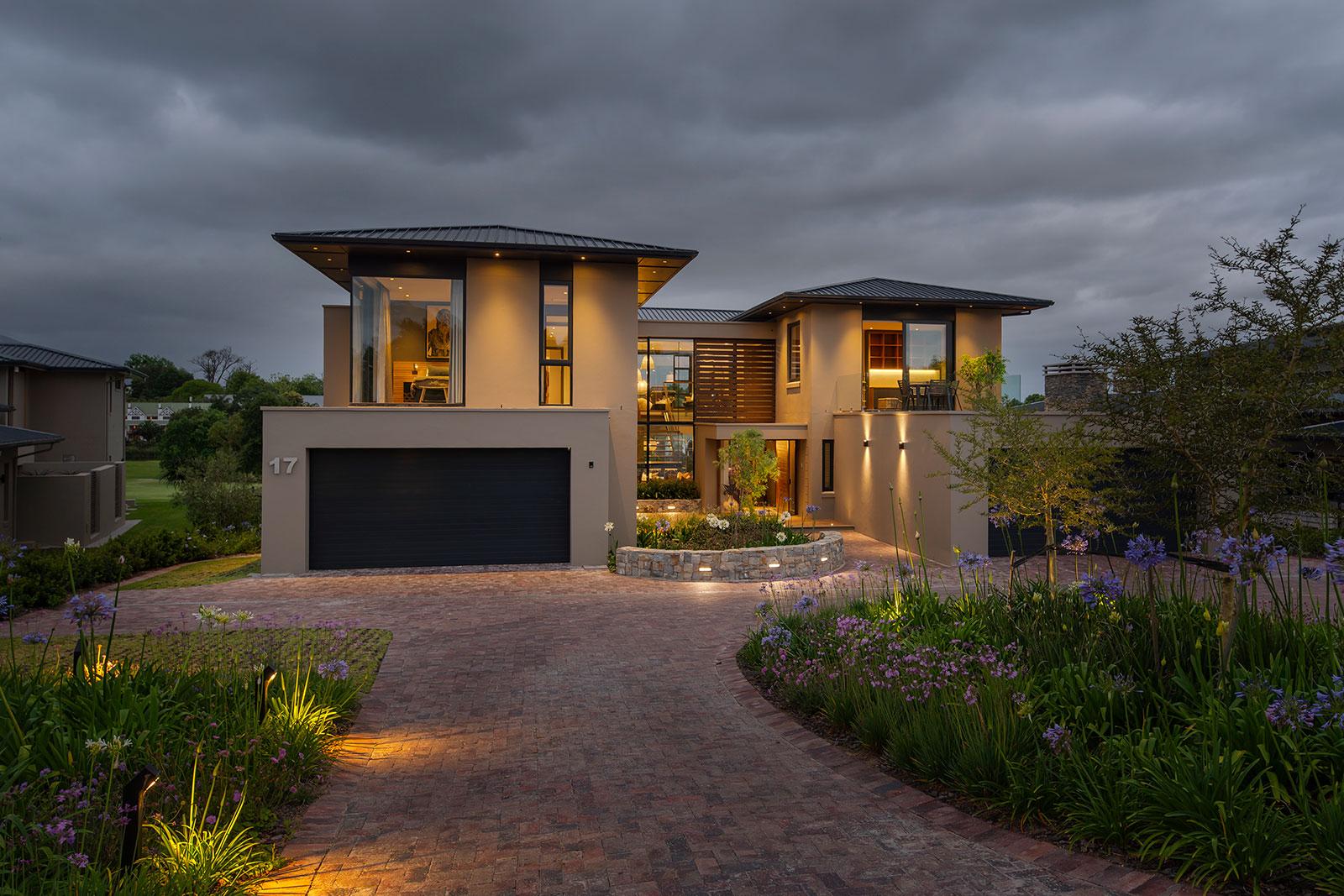 Contemporary Fancourt House 001