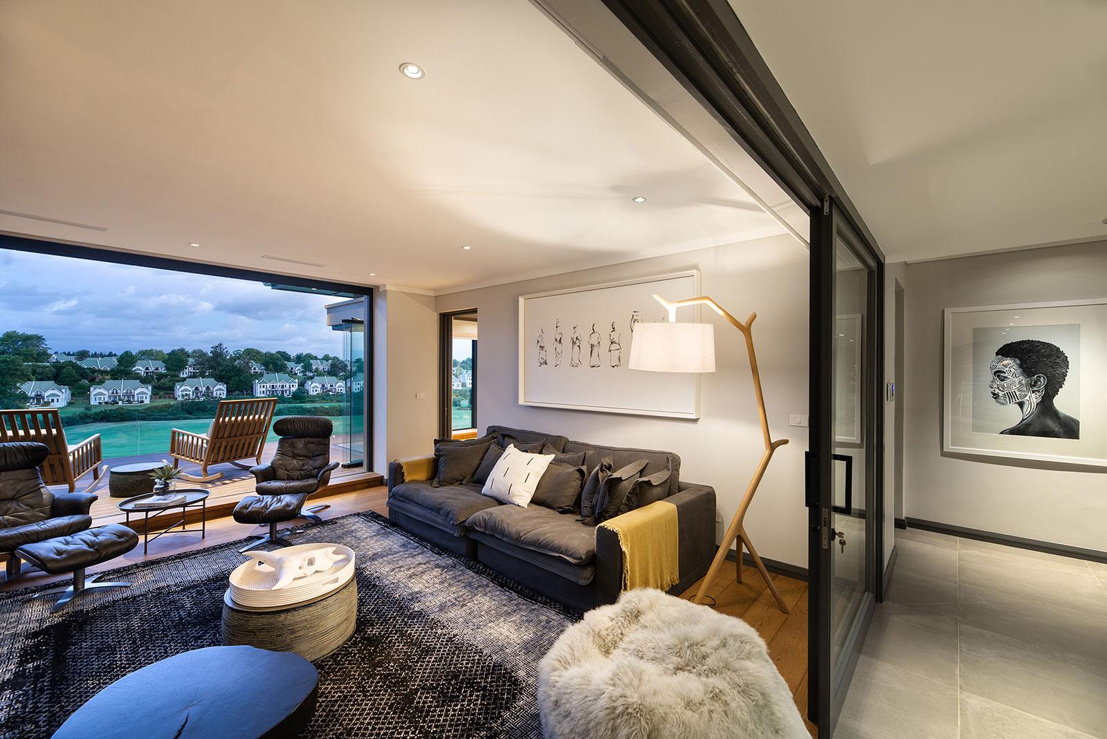 Contemporary Fancourt House 005
