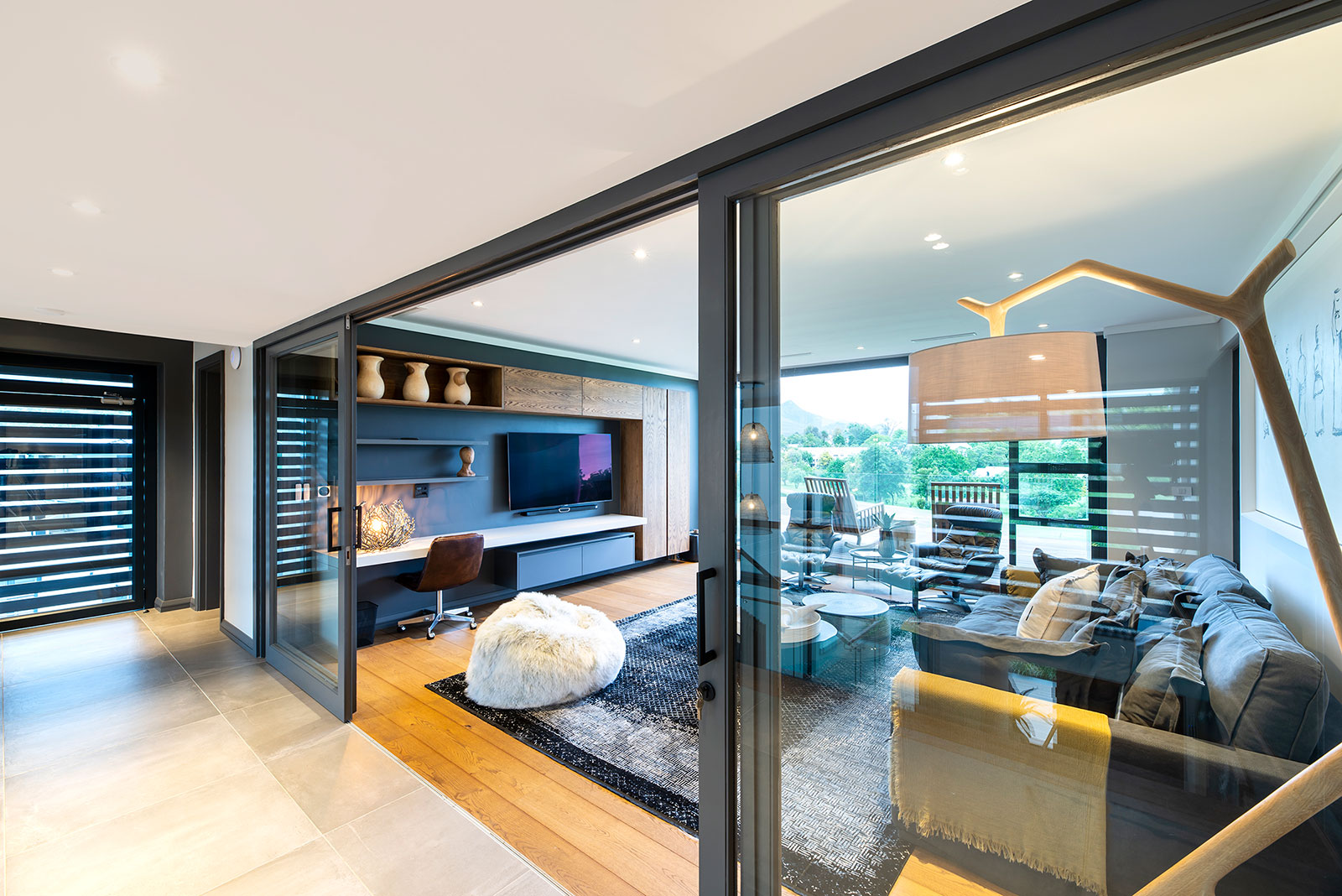 Contemporary Fancourt House 011