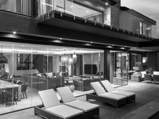 Contemporary Fancourt House